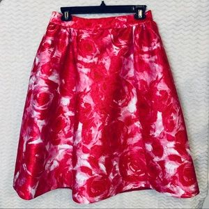Kate Spade Madison Ave Rose Crista Skirt Size 6